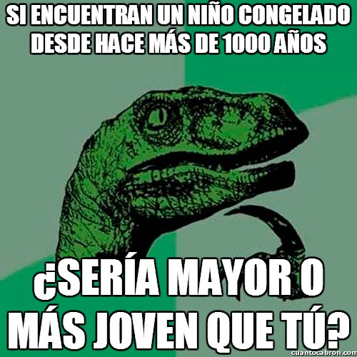 Philosoraptor - ¿Mayor o menor?