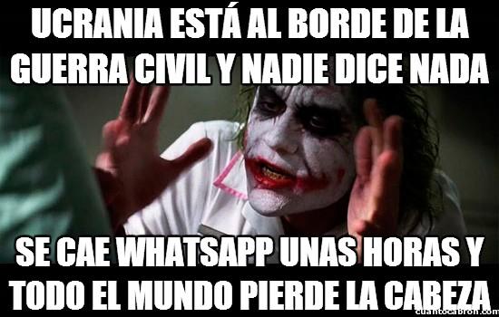 Joker - Mientras no me quiten el WhatsApp...