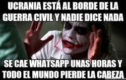 Enlace a Mientras no me quiten el WhatsApp...