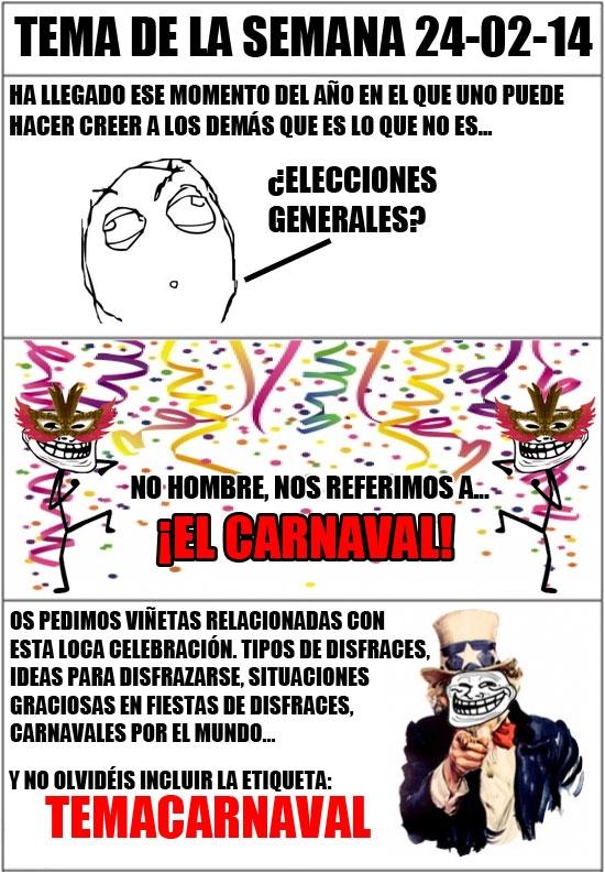 Otros - [Tema de la semana] ¡Carnaval, carnavaaaaaaal!