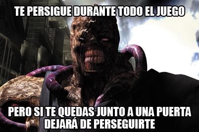 Meme_otros - Lógica aplastante del Resident Evil 3
