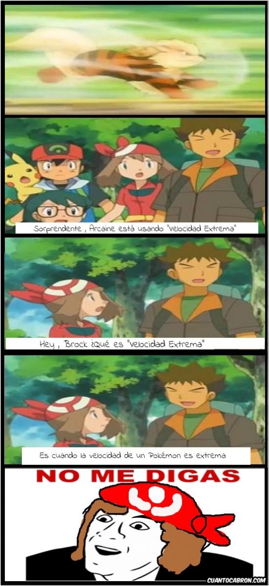 ash,brock,misty,no me digas,pikachu,pokémon,velocidad extrema