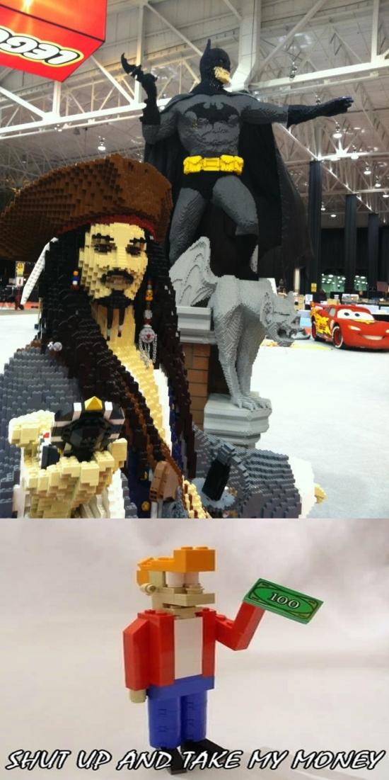 Fry - Figuras de Lego llevadas a otro nivel