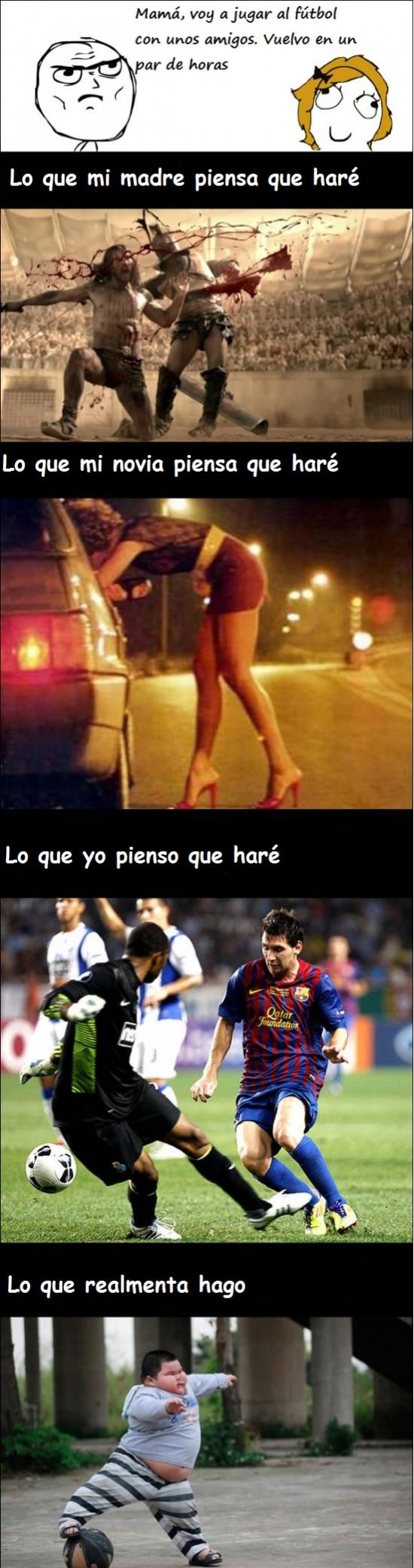 Otros - ¡Casi como Messi!