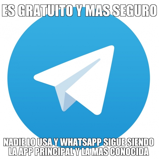 Meme_otros - Bad luck Telegram