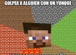 Enlace a En Minecraft, un yunque equivale a una pluma