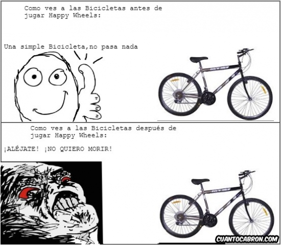 Inglip - Happy Wheels y las bicicletas