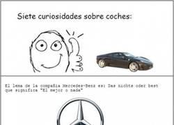 Enlace a 7 curiosidades sobre coches
