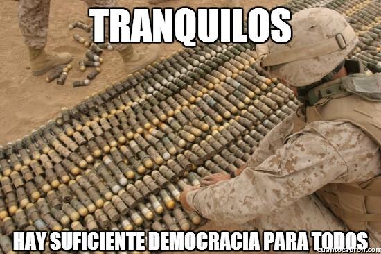 Meme_otros - Relajaos, hay democracia para todos