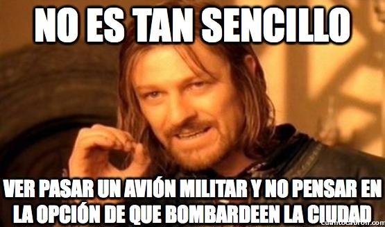 Boromir - Los aviones militares trolls