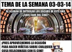 Enlace a [Tema de la semana] And the Oscar goes to...