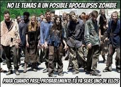 Enlace a Tranquilo, no temas por los zombies...
