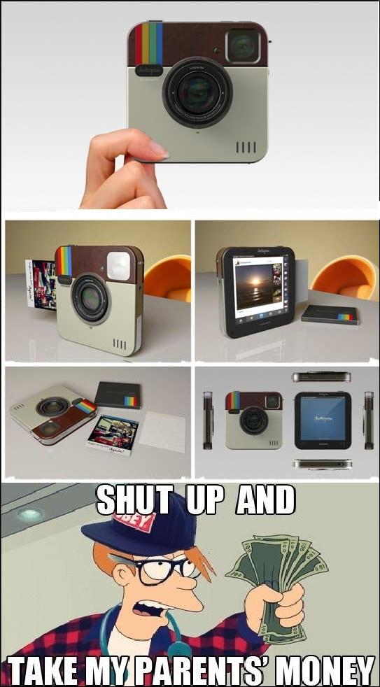 Fry - La cámara que todo hipster desea