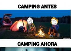 Enlace a Ir de ''camping''