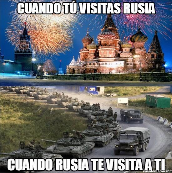 Meme_otros - Pequeñas diferencias en las visitas rusas