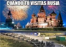 Enlace a Pequeñas diferencias en las visitas rusas