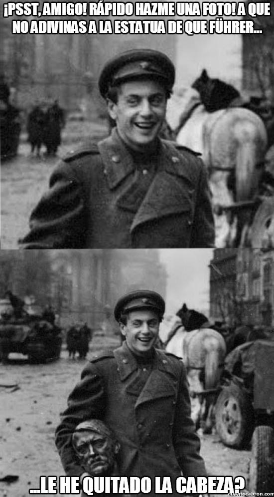 Meme_otros - Una vez terminada la guerra vuelven las travesuras