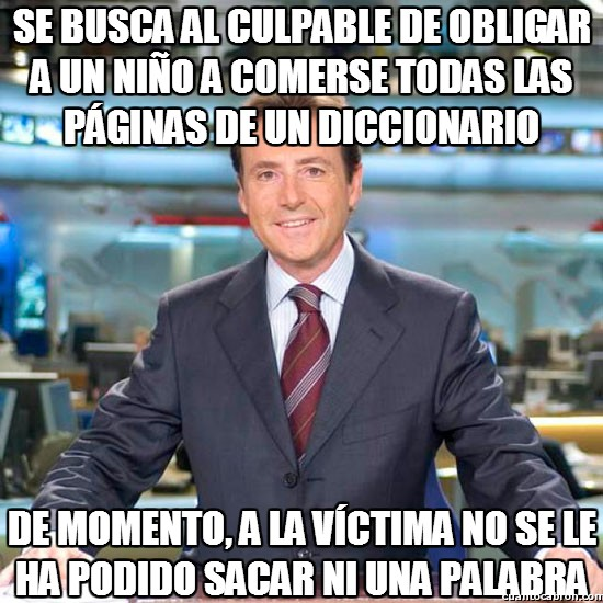 Meme_matias - ¡Ni una palabra!