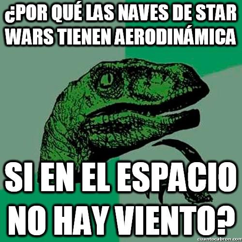 Philosoraptor - La lógica de Star Wars