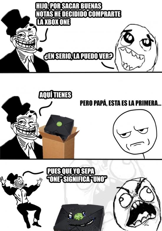 Trolldad - Haberme comprado la PS4, que no te hubieras equivocado