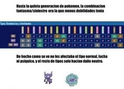 Enlace a Pobres Pokémon con combinación siniestro/fantasma