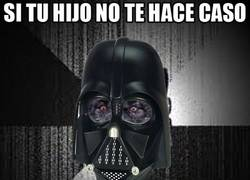 Enlace a El lobo demente, feat. Darth Vader