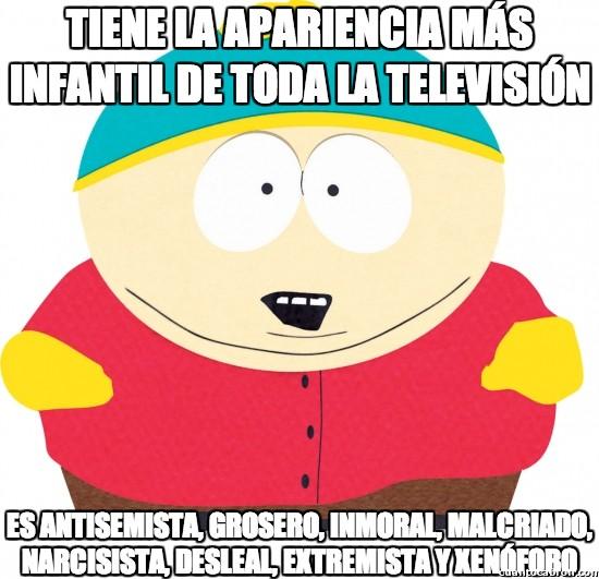 Meme_otros - South Park, el más claro ejemplo de que las apariencias engañan