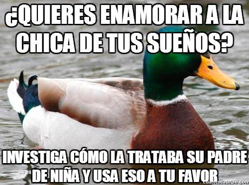Pato_consejero - ¿Quieres enamorar a la chica de tus sueños?
