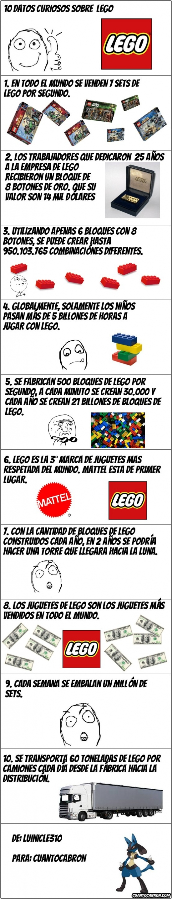 Mix - Curiosidades de Lego