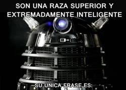 Enlace a ¿Daleks superdotados?