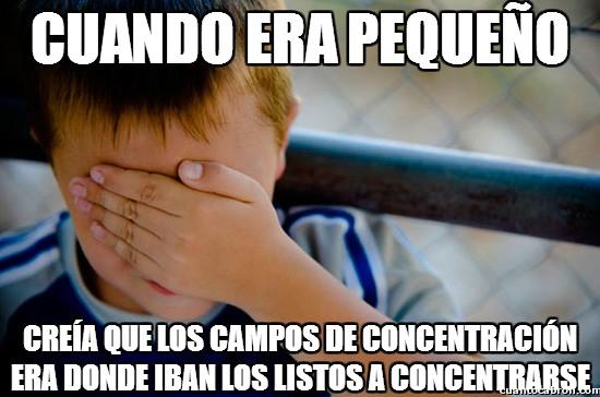 Confession_kid - ¡A concentrarse!