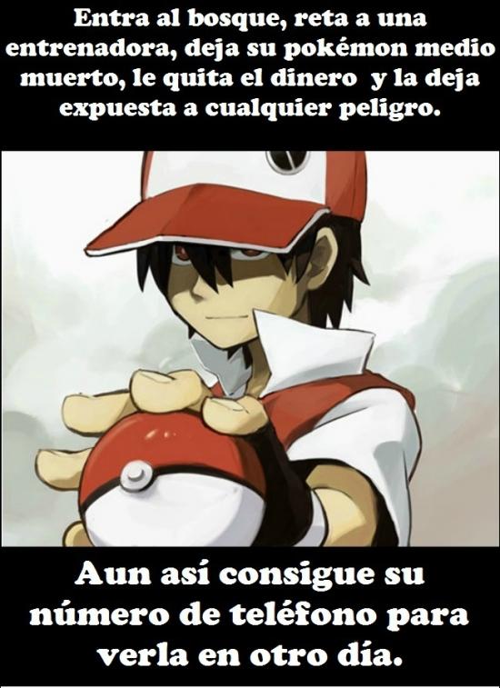 Meme_otros - La logica al ligar en Pokémon