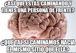 Enlace a Cerebros que disfrutan viéndote chocar