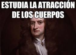 Enlace a Bad Luck Isaac Newton