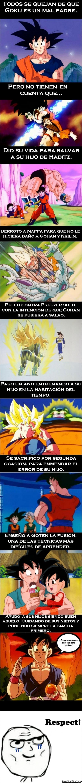 Otros - [Tema de la semana] Goku no es tan mal padre como la gente dice