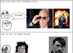 Enlace a Putin: héroe, villano o...