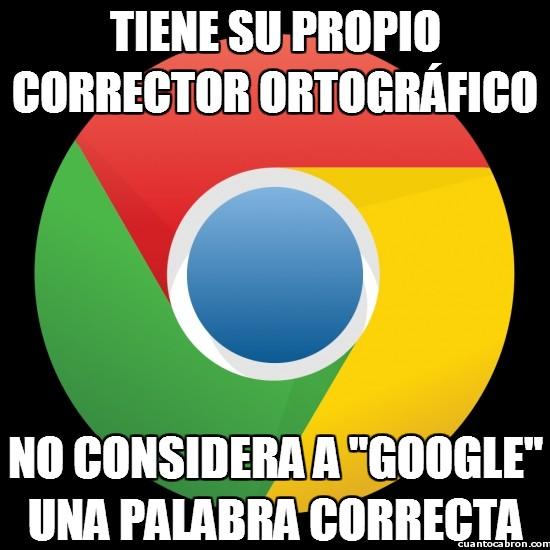 Meme_otros - Google no es una palabra correcta ni para Google