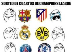 Enlace a Y así quedan las cosas en cuartos de la Champions League