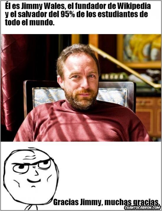 Otros - Gracias Jimmy Wales