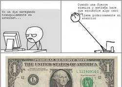 Enlace a El secreto de los billetes de dólar