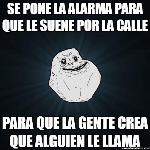 Meme_forever_alone - Llamadas en público