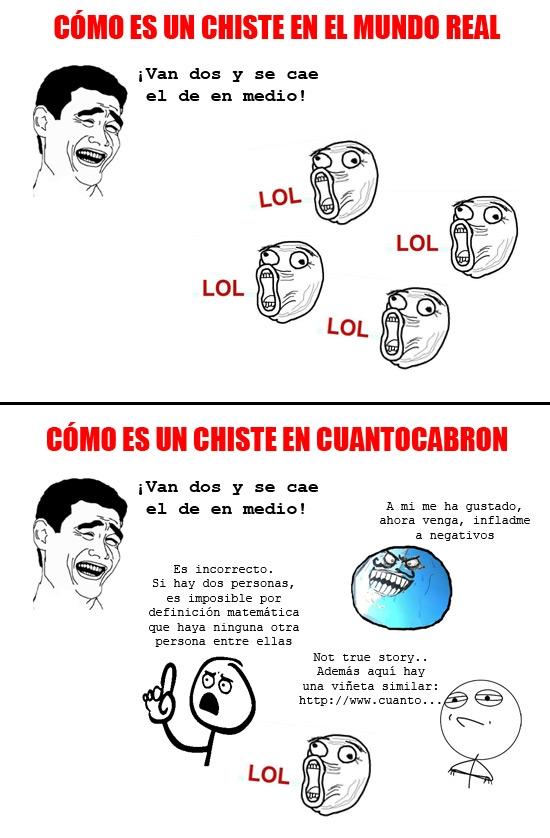 Mix - ¡Qué difícil es contar un chiste en Cuanto Cabrón!