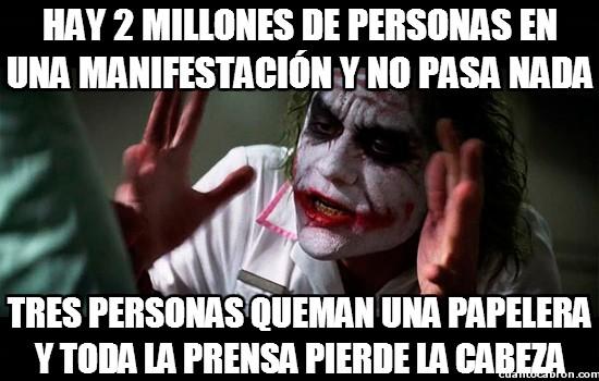 Joker - Manipulación informativa