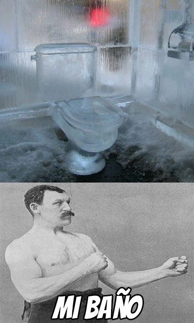 Overly_manly_man - ¿Te quejas de que tu lavabo está frío en invierno?