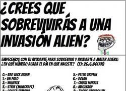 Enlace a ¿Cómo sobrevivirías a una invasión alien?