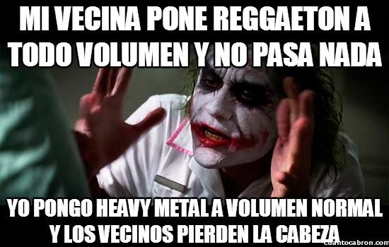 Joker - En mi edificio, los vecinos tienen unos gustos musicales bastante dudosos