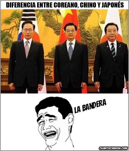 Yao - Diferencias entre asiáticos