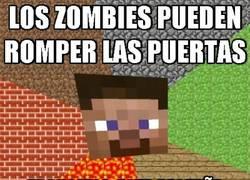 Enlace a Los zombies contra las vallas