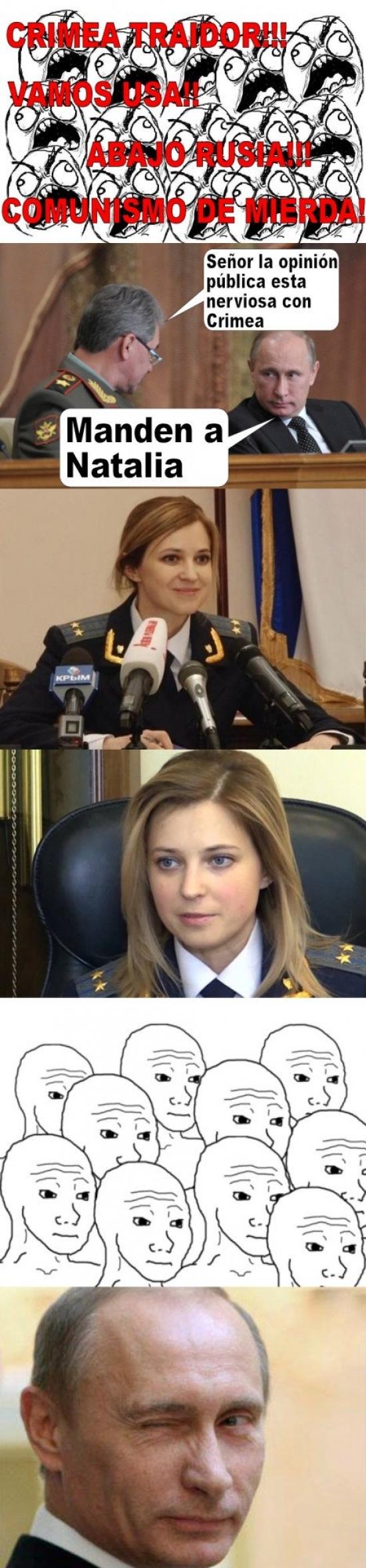 Otros - La mejor arma de Rusia frente a la opinión pública