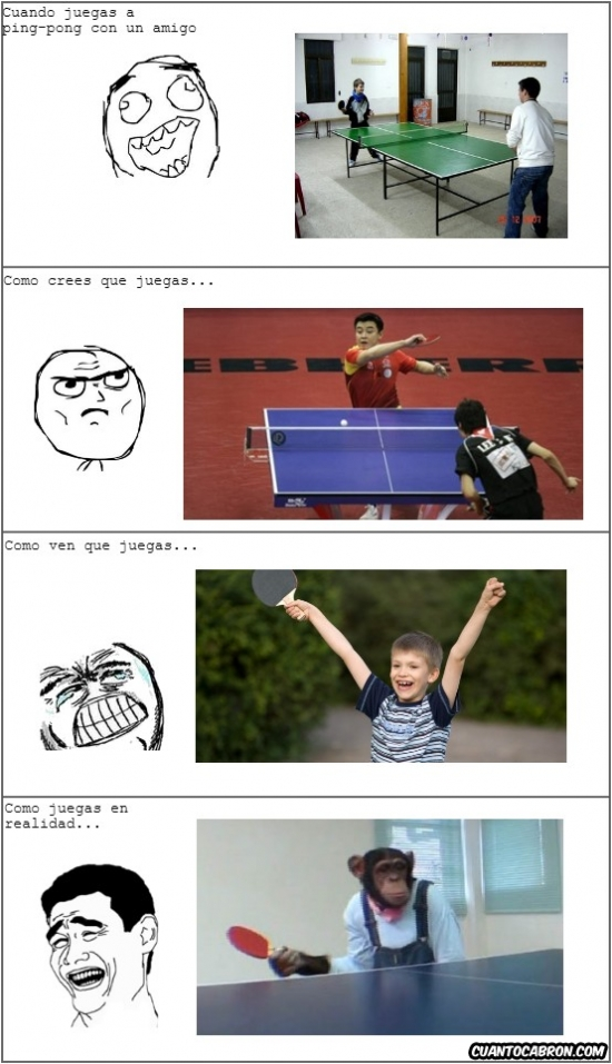 Mix - Cuando juegas a ping pong...